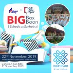"Wall Street English ร่วมกับ Bangkok Airwaysจัดกิจกรรม ""Big Box Big Boon"" กิจกรรมการกุศลให้กับ 5 โรงเรียนในจังหวัดสุโขทัย"